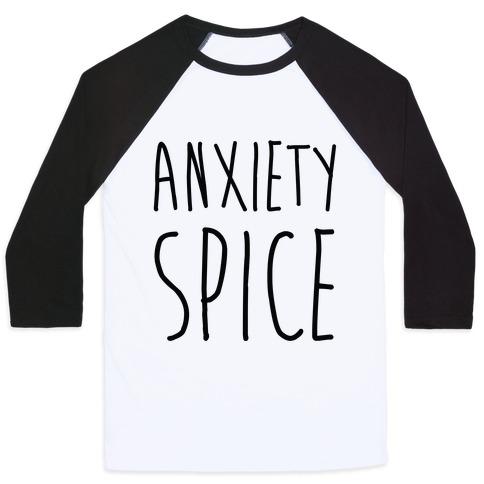 Anxiety Spice Baseball Tee