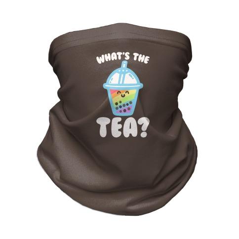 What's The Tea Bubble Tea Neck Gaiter