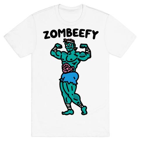Zombeefy Parody T-Shirt