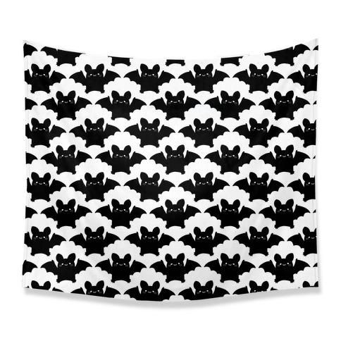 Cute Bats Pattern Tapestry