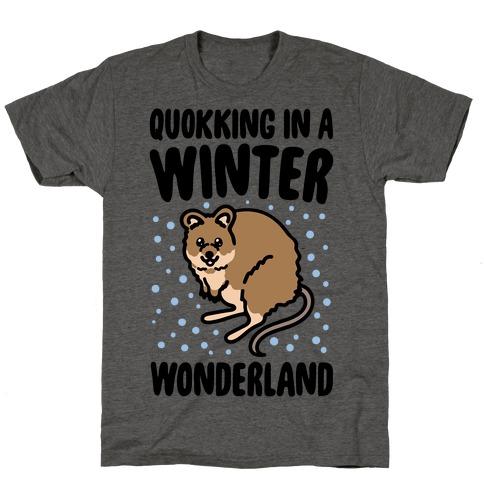 Quokking In A Winter Wonderland T-Shirt