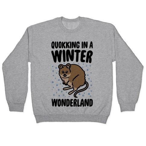 Quokking In A Winter Wonderland Pullover