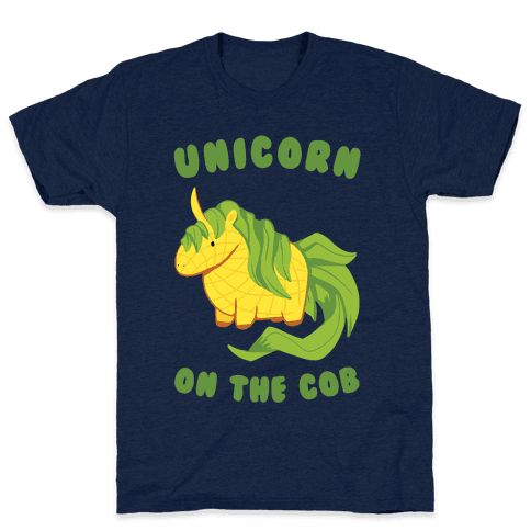 Unicorn On The Cob Mens T-Shirt
