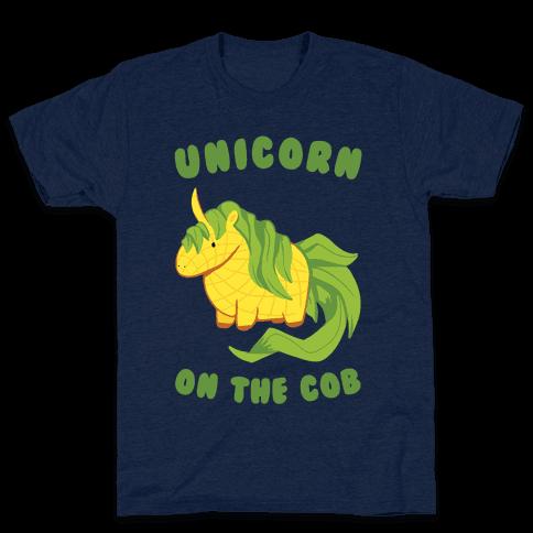 Unicorn On The Cob Mens T-Shirt