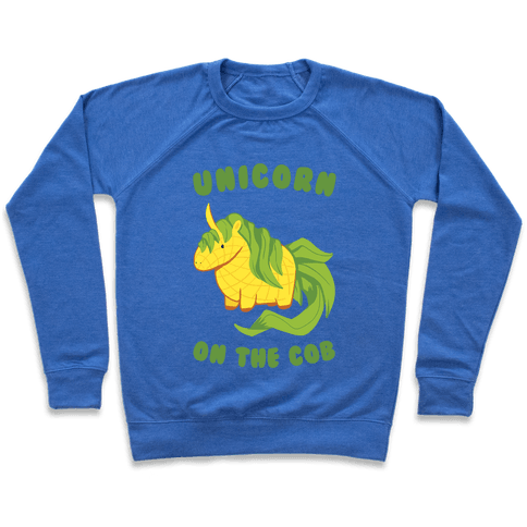 Unicorn On The Cob Pullover