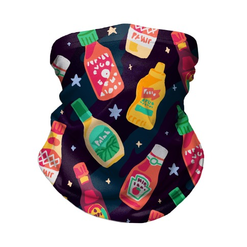 Cosmic Condiments Neck Gaiter