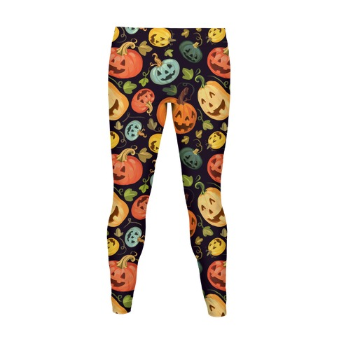 Autumn Pumpkin Pattern  Women's Legging