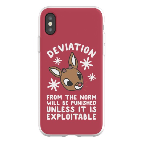 Deviation Rudolf Phone Flexi-Case
