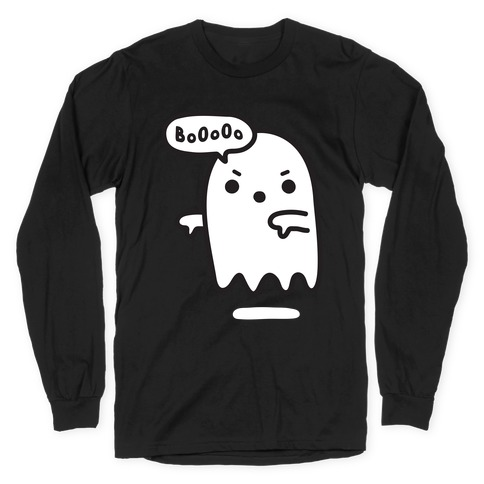 Disapproving Ghost Long Sleeve T-Shirt