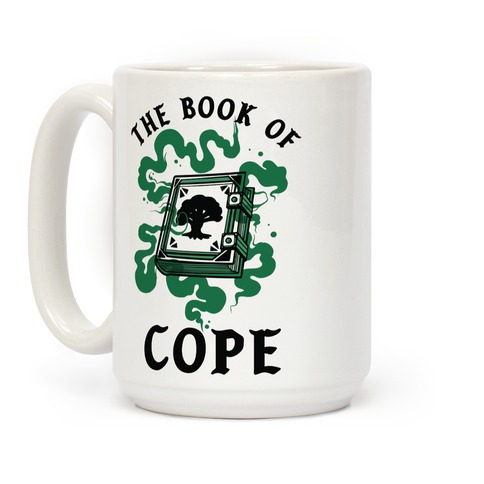 The Book Of Cope Green Magic Coffee Mug