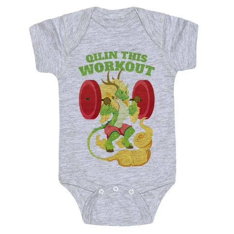 Qilin This Workout! Baby Onesy