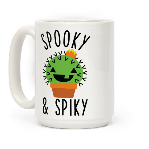 Spooky and Spiky Coffee Mug