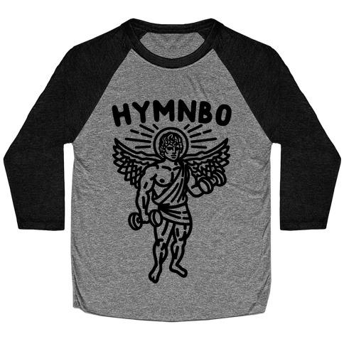 Hymnbo Angel Parody Baseball Tee