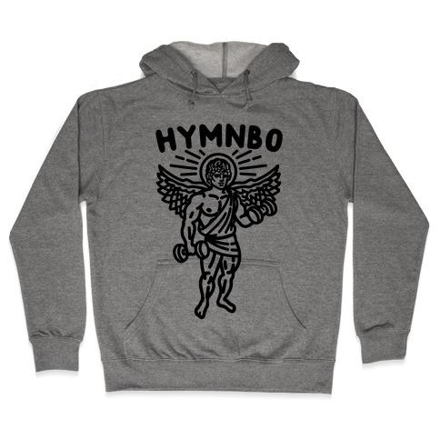 Hymnbo Angel Parody Hooded Sweatshirt