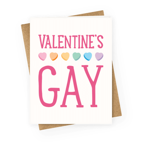 Valentine's Gay Greeting Card