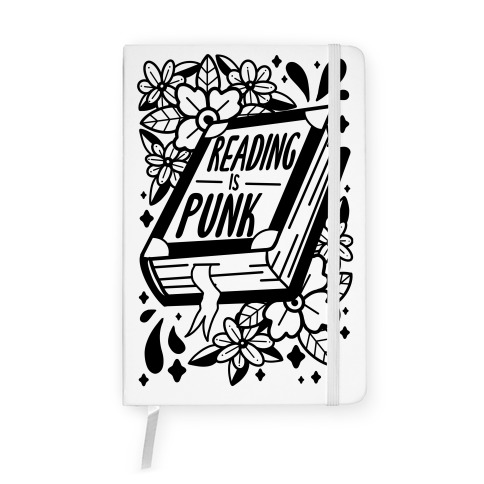 Reading Is Punk Book Notebook