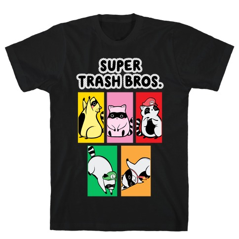 Super Trash Bros. T-Shirt