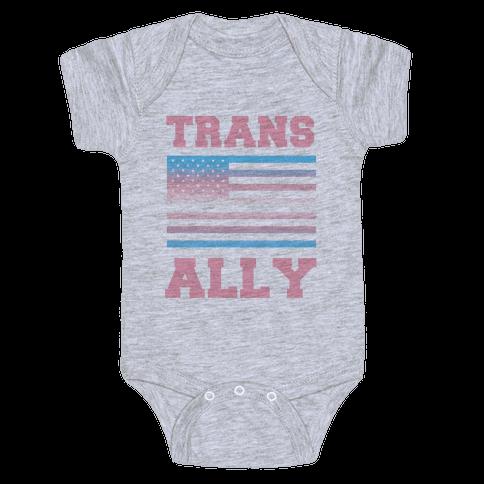 Trans Ally Baby Onesy