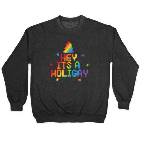 Hey It's a Holigay Pullover