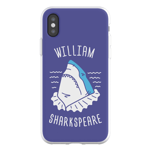 William Sharkspeare Phone Flexi-Case