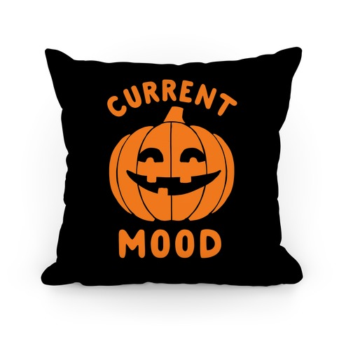 Current Mood: Halloween Pillow