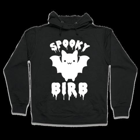 Spooky Birb Bat Hooded Sweatshirt