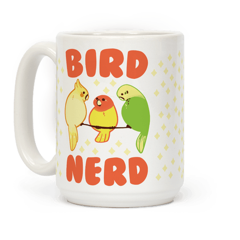 Bird Nerd Coffee Mug