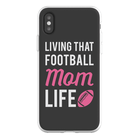 Living That Football Mom Life Phone Flexi-Case