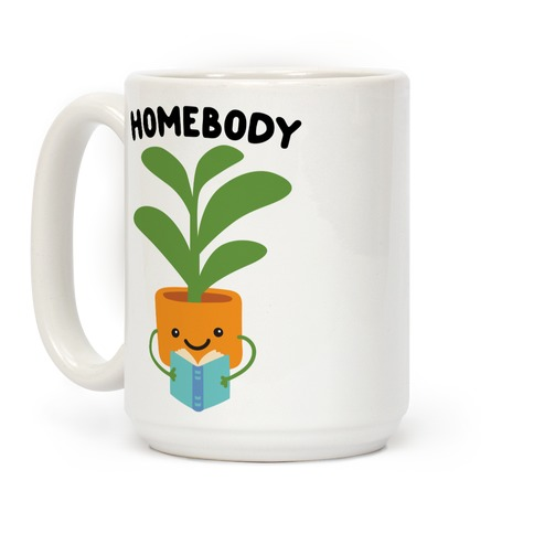 Homebody Reading Plant Coffee Mug
