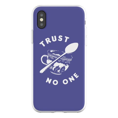 Trust No One Phone Flexi-Case
