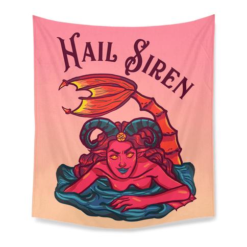 Hail Siren Tapestry