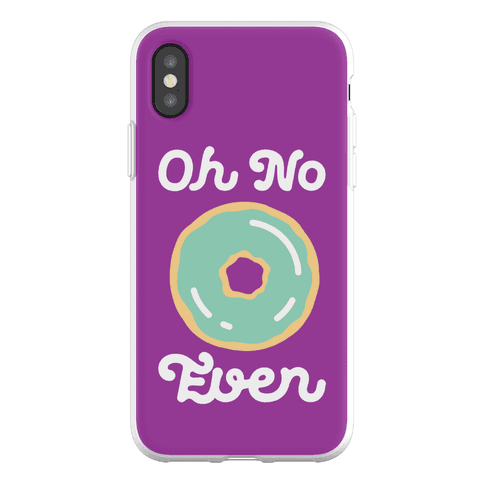 Oh No Doughnut Even Phone Flexi-Case