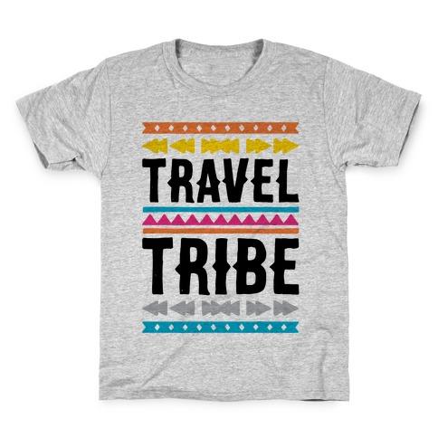 Travel Tribe Kids T-Shirt
