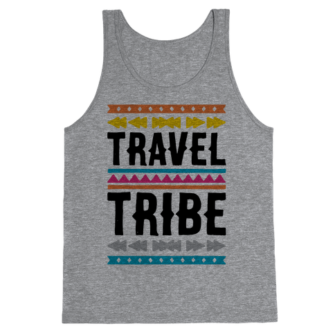 Travel Tribe  Tank Top