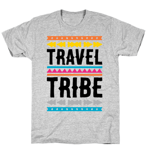 Travel Tribe  Mens T-Shirt
