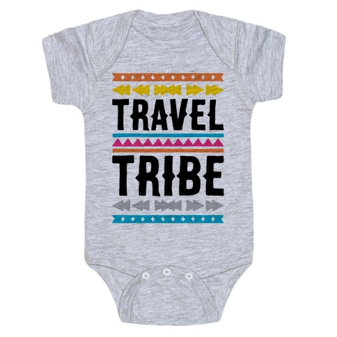 Travel Tribe  Baby Onesy