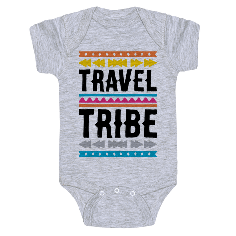 Travel Tribe  Baby Onesy