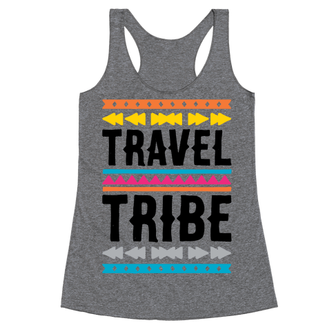 Travel Tribe  Racerback Tank Top