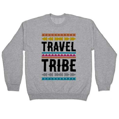 Travel Tribe Pullover