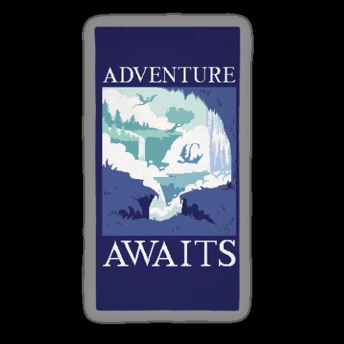 Adventure Awaits Beach Towel