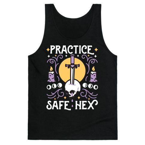 Practice Safe Hex Tank Top