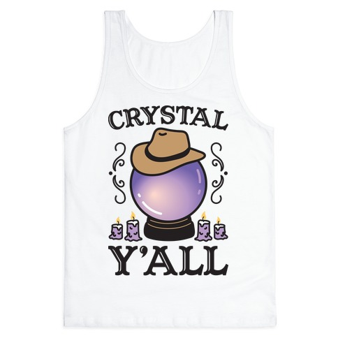 Crystal Y'all Tank Top