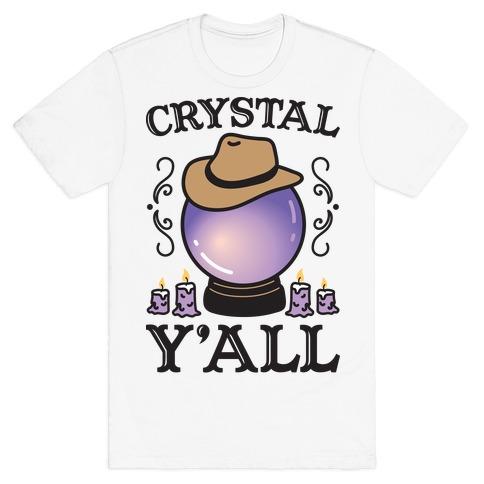 Crystal Y'all T-Shirt