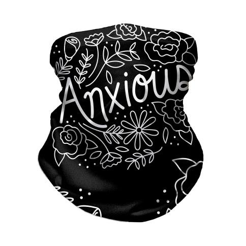 Anxious Florals Neck Gaiter