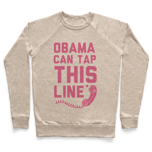 Obama Can Tap this Line Pullover