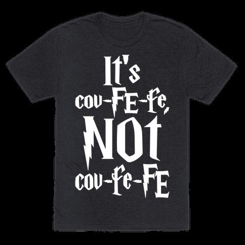 It's Covfefe Not Covfefe Parody White Print
