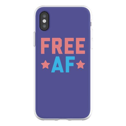 Free AF Phone Flexi-Case