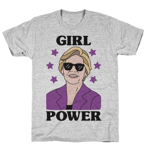 Girl Power Elizabeth Warren Mens T-Shirt