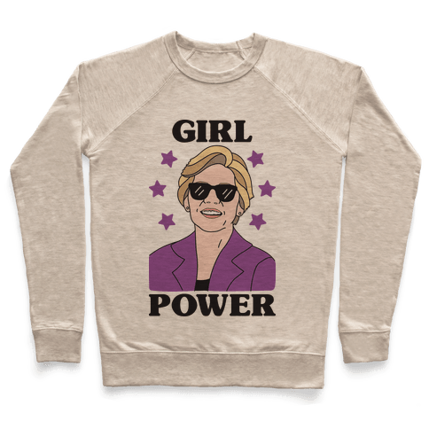 Girl Power Elizabeth Warren Pullover