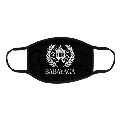 Baba Yaga Balenciaga Parody Flat Face Mask